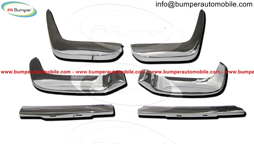 Volvo P1800 Jensen Cowhorn bumper stainless steel-Vehicles-Car Parts & Accessories-Ahmedabad