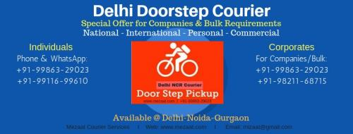 Doorstep Courier Pickup Service - Delhi & Noida-Jobs-Transportation & Logistics-Delhi