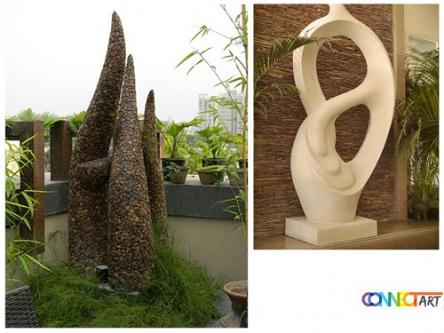 Take A Look at the New Forms of Outdoor Modern Sculptures-Services-Lawn & Garden Services-Rajpur Sonarpur