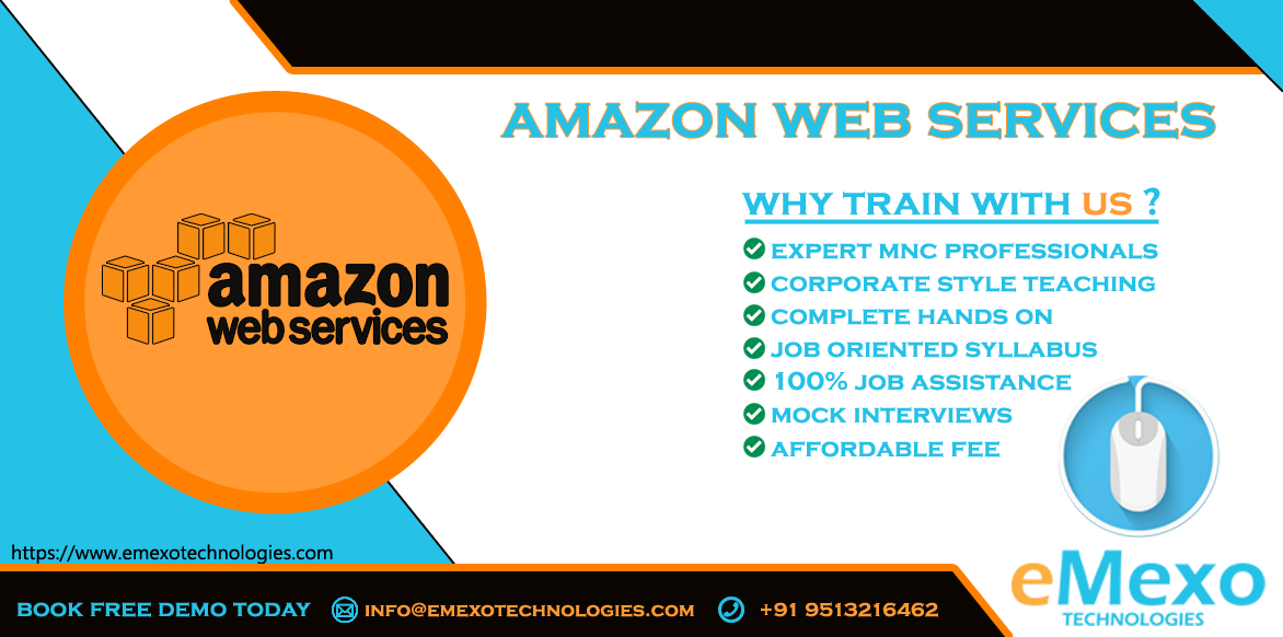 Best AWS Training Institute in Electronic City - eMexo Techn-Classes-Computer Classes-Programming Classes-Bangalore