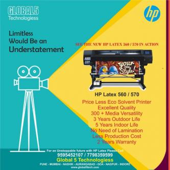 See the new HP LATEX 560/570 in action-Services-Other Services-Pune