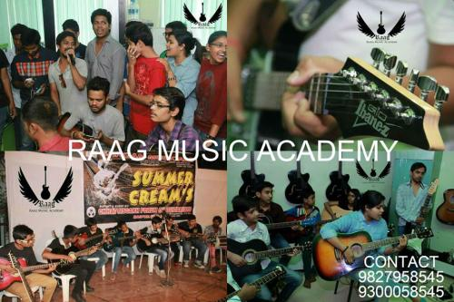Sep 2nd – Dec 30th (Sun) – Join Raag Music academy For Guitar, Keyboard, Octapad, Flute,-Community-Qualified Trainers-Raipur
