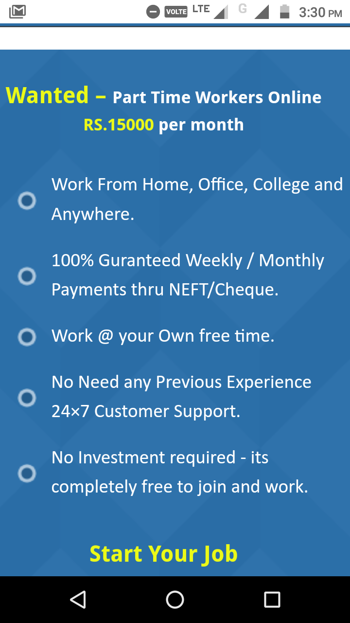 We are Hiring - Earn  Per month - Copy Paste jobs-Jobs-Part Time Jobs-Anand