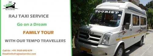 Book Tempo Traveler for family trip at an affordable price-Services-Travel Services-Jaipur