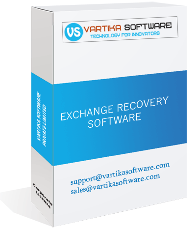 Vartika Exchange EDB to PST Converter Software-Services-Office Services-Delhi