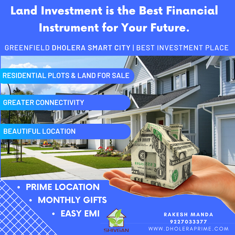 Residential Plots & Land for Sale in Dholera Smart City-Homes-Residental-Sell-Ahmedabad