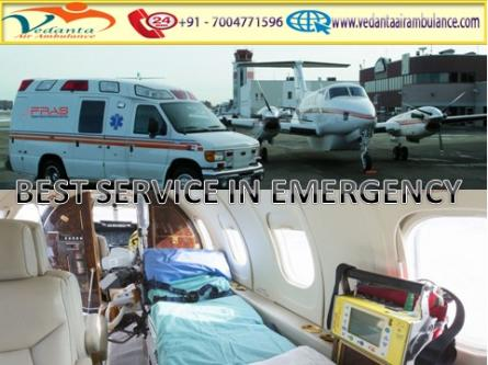 Vedanta Air Ambulance from Raipur to Delhi is 24*7 Available-Services-Health & Beauty Services-Health-Raipur