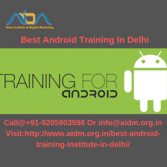Best android training in Delhi |android training in laxmi nagar-Jobs-Education & Training-Delhi