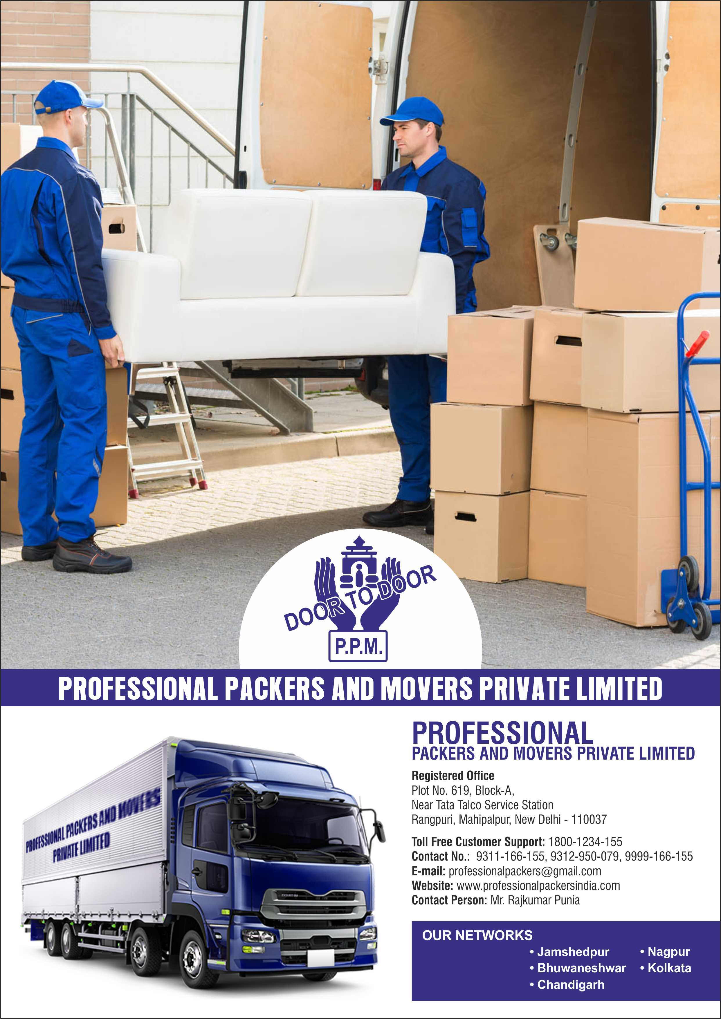 Professional - Packers And Movers in Chennai -Services-Moving & Storage Services-Chennai
