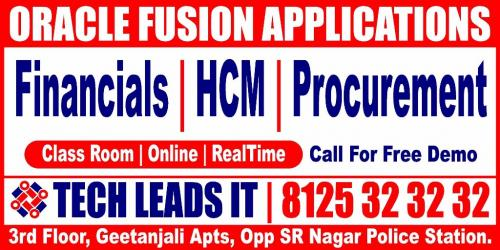 Dec 25th – ORACLE APPS, FUSION TRAINING CENTRE-Classes-Computer Classes-ERP & SAP Classes-Hyderabad