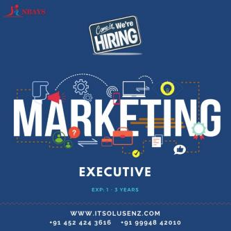 Marketing Executive ( EXP 1 - 3 years )-Jobs-Information Technology-Madurai