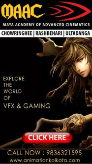Oct 3rd – Jan 30th – Enter The World Of Animation Vfx Gaming Multimedia-Classes-Computer Classes-Graphic Classes-Rajpur Sonarpur