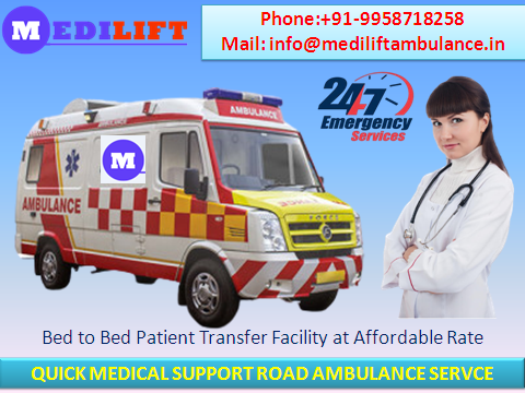 Quality Ground Ambulance Service in Vasant Vihar by Medilift-Services-Health & Beauty Services-Health-Delhi