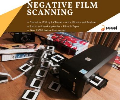 Negative film scanning | Film scanning - Prasad Corp-Services-Translation-Chennai
