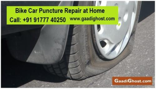 Doorstep Bike, Car Tyre Puncture Repair in Madhapur Kondapur-Services-Automotive Services-Hyderabad
