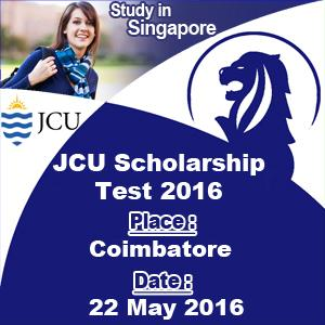 Apply for JCU Scholarship Test and win 50 scholarship-Services-Event Services-Madurai