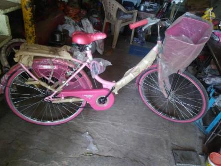 Brand New Hero Miss India Gold ladies bicycle for sale-Vehicles-Cycles-Bangalore