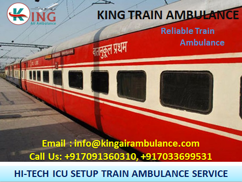 King Train Ambulance Service in Patna with Medical Support-Services-Health & Beauty Services-Health-Patna