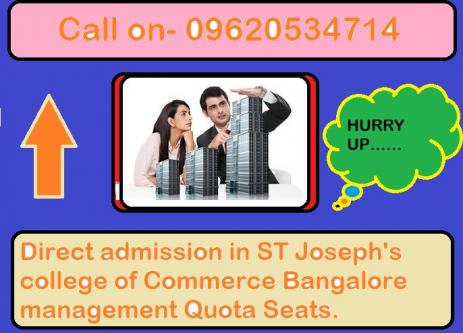 Which is better, St Joseph's College, Bangalore in for a BBA-Services-Career & HR Services-Hyderabad