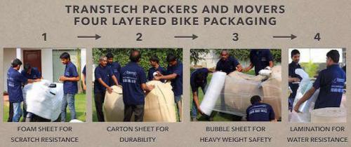 Movers packers for bike relocation chennai-Services-Moving & Storage Services-Chennai