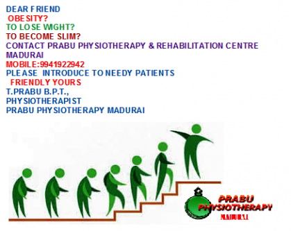 PRABU PHYSIO MADURAI LAUNCHES SLIM UP CENTRE FOR OBESITY PATIENT-Services-Health & Beauty Services-Health-Madurai