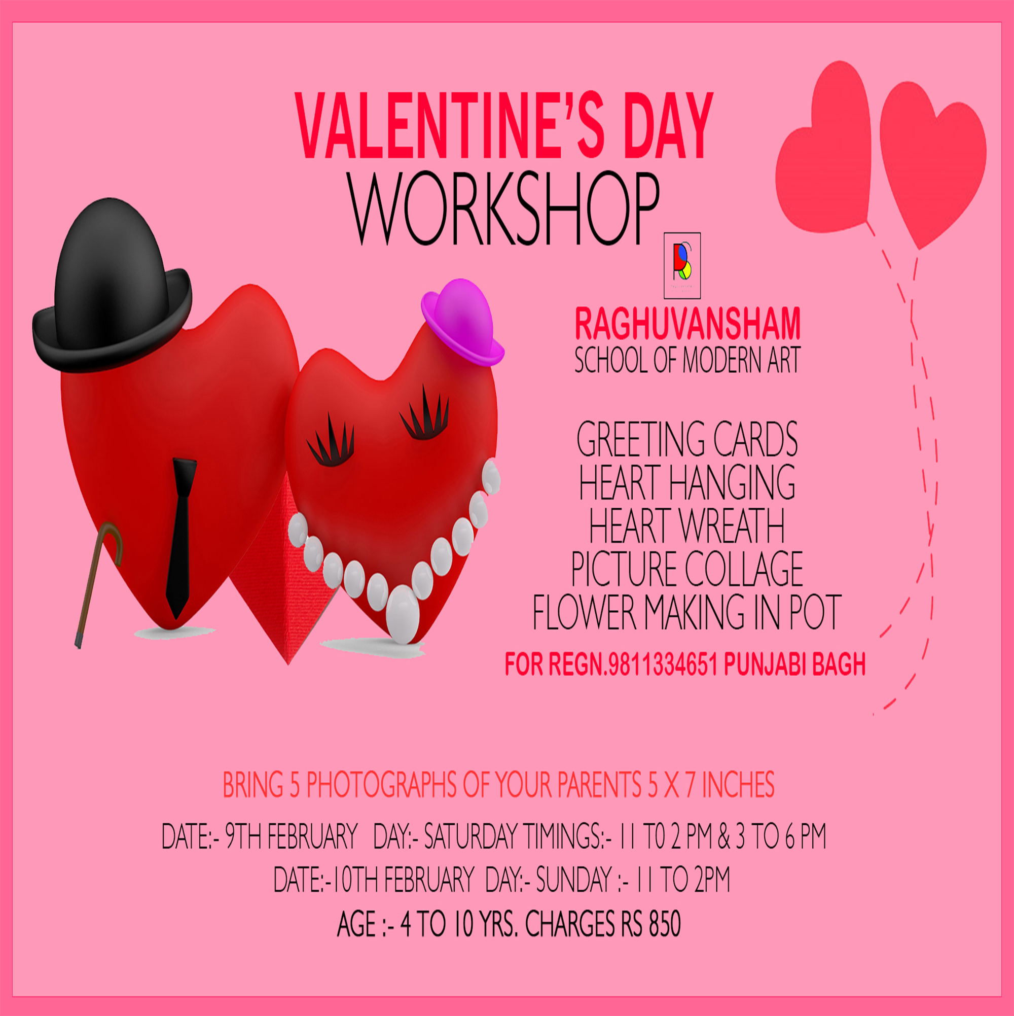 Valentines Day Workshop -Events-Other Events-Delhi