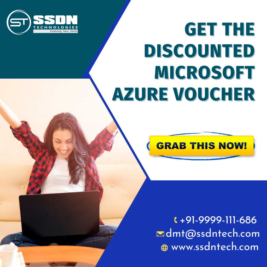 Microsoft Azure Certification Voucher at SSDN Technologies -Classes-Computer Classes-Other Computer Classes-Gurgaon