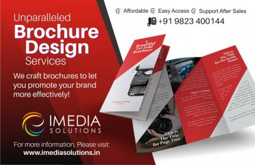 Unparalleled Brochure Design Services-Services-Creative & Design Services-Karnal