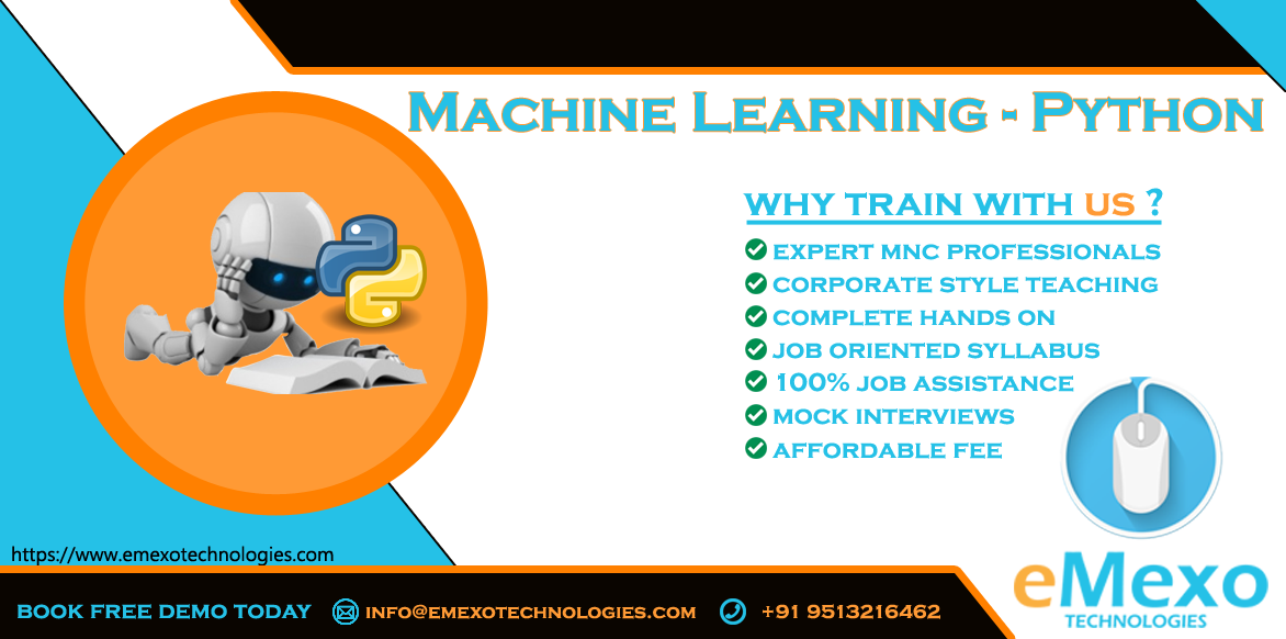 Best Machine Learning Training Institute=eMexo Technologies-Classes-Computer Classes-Programming Classes-Bangalore