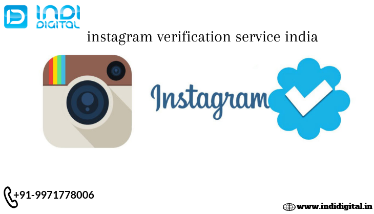Find the best instagram verification service india-Services-Web Services-Ghaziabad