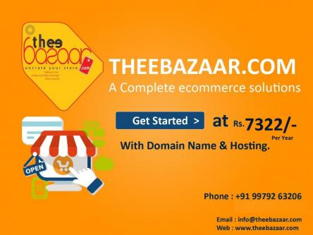 Make your Online Ecommerce store In India-Services-Web Services-Ahmedabad
