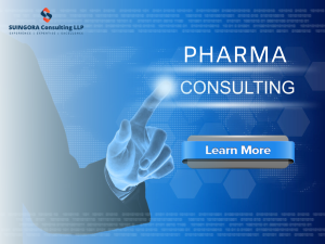 Pharmaceutical Consulting Services-Services-Other Services-Gurgaon