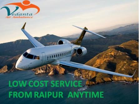 Vedanta Air Ambulance from Raipur to Delhi is Pocket Size-Services-Health & Beauty Services-Health-Raipur
