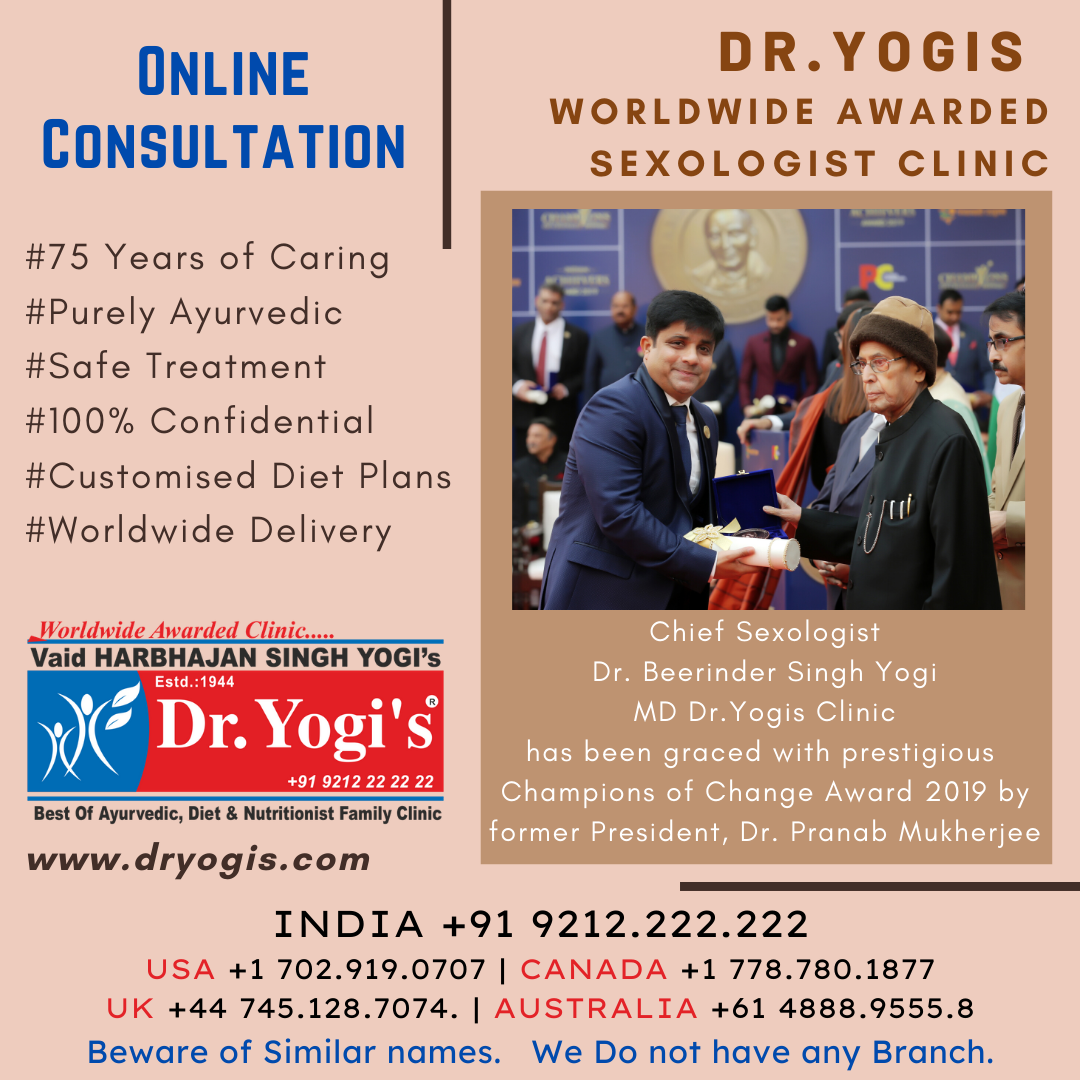 Dr. Beerinder Singh Yogi Chief Sexologist Wins Champions of -Services-Health & Beauty Services-Health-Chandigarh