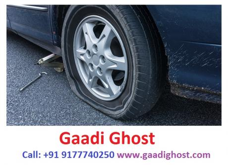 Doorstep Puncture Repair in Hitech City by Gaadighost-Vehicles-Motorcycle Accessories-Hyderabad