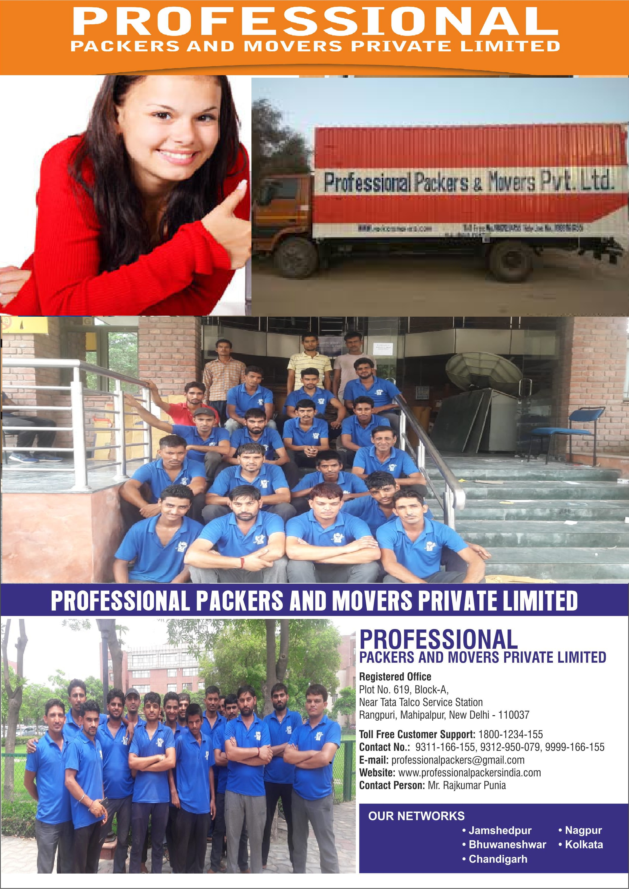 Professional - Packers And Movers Kolkata,Movers And Packers-Services-Moving & Storage Services-Kolkata