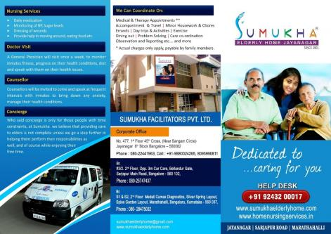 Living at Home with Dementia,Sumukha take care-Community-Elderly Home Assistance-Bangalore