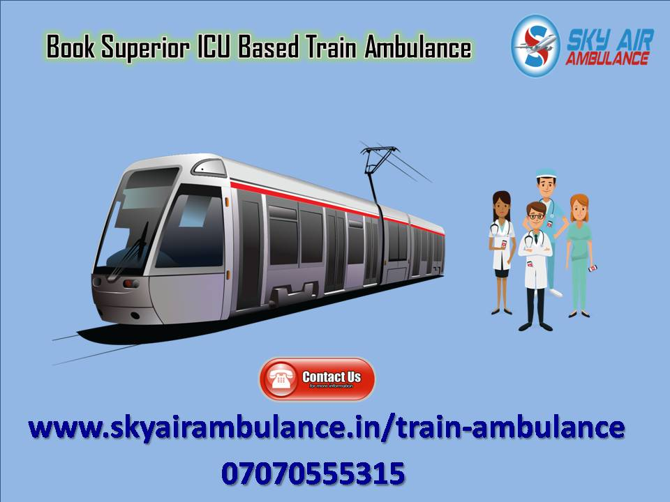Take Sky Train Ambulance Service in Chennai at Pocket Price-Services-Health & Beauty Services-Health-Chennai