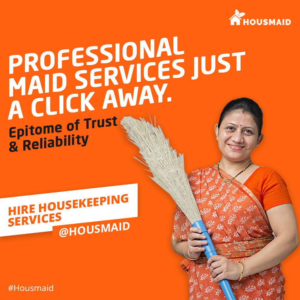 Housmaid- Book Maid Online-Services-Home Services-Gurgaon