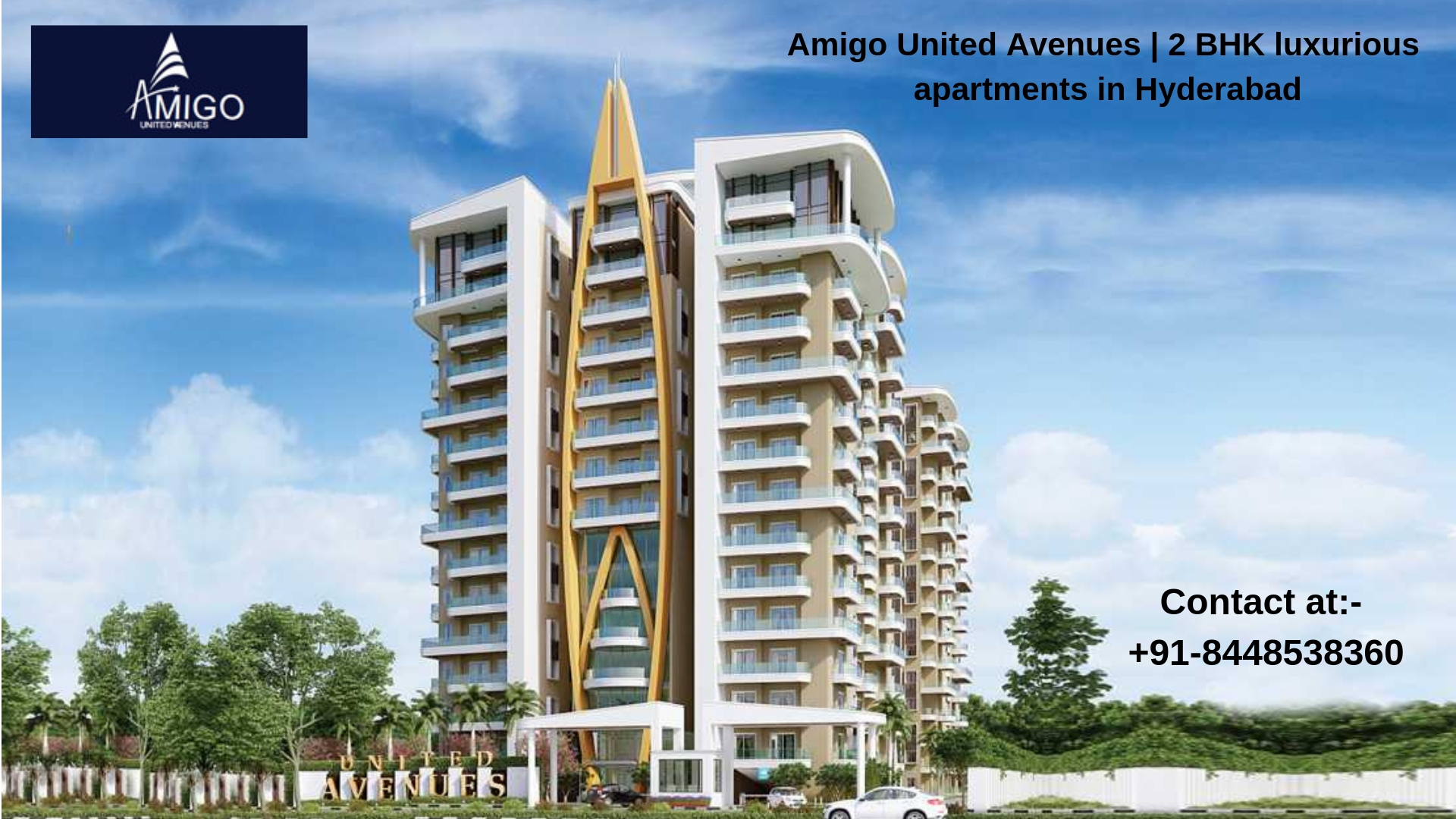 Amigo United Avenues by Amigo Group | Apartments for sale -Real Estate-For Sell-Flats for Sale-Hyderabad