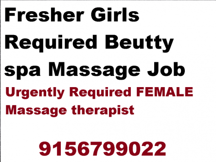 Female Staff Required for Massage parlour & Unisex Spa massage-Jobs-Health Care-Pune