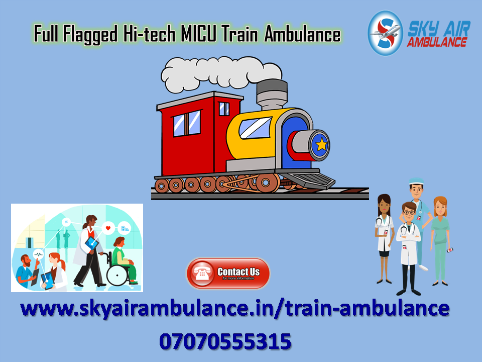 Pick Most Trusted Train Ambulance Service in Chennai-Services-Health & Beauty Services-Health-Chennai