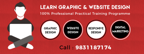 Aug 28th – Dec 25th – Professional Graphic & Website Design Training-Classes-Computer Classes-Web Design Classes-Kolkata