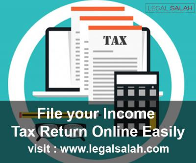 Income Tax Return and Filing Services Online in India-Services-Legal Services-Rajpur Sonarpur