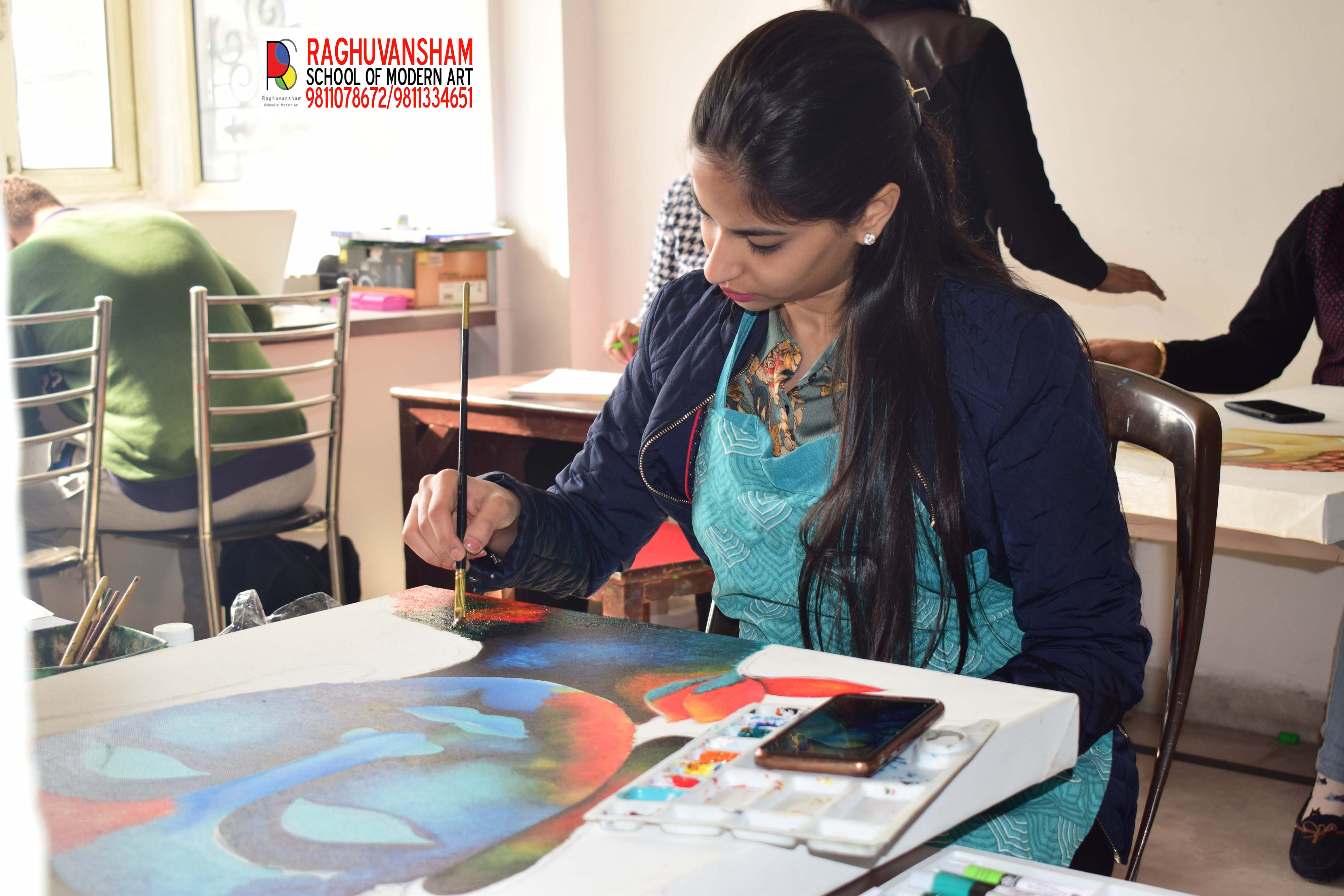 painting coaching in rohini-Classes-Other Classes-Delhi