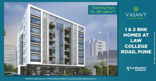 2 BR – 1 and 2 BHK Flats for Sale on Law college Road Pune-Real Estate-For Sell-Flats for Sale-Pune
