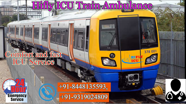 Low-Cost Train Ambulance Service in Jabalpur By Hifly  ICU -Services-Health & Beauty Services-Health-Jabalpur
