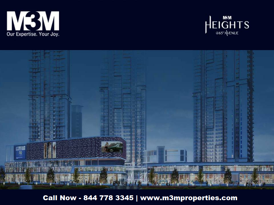 M3M Heights Sector 65 Gurgaon - An Incredible Township-Services-Real Estate Services-Gurgaon
