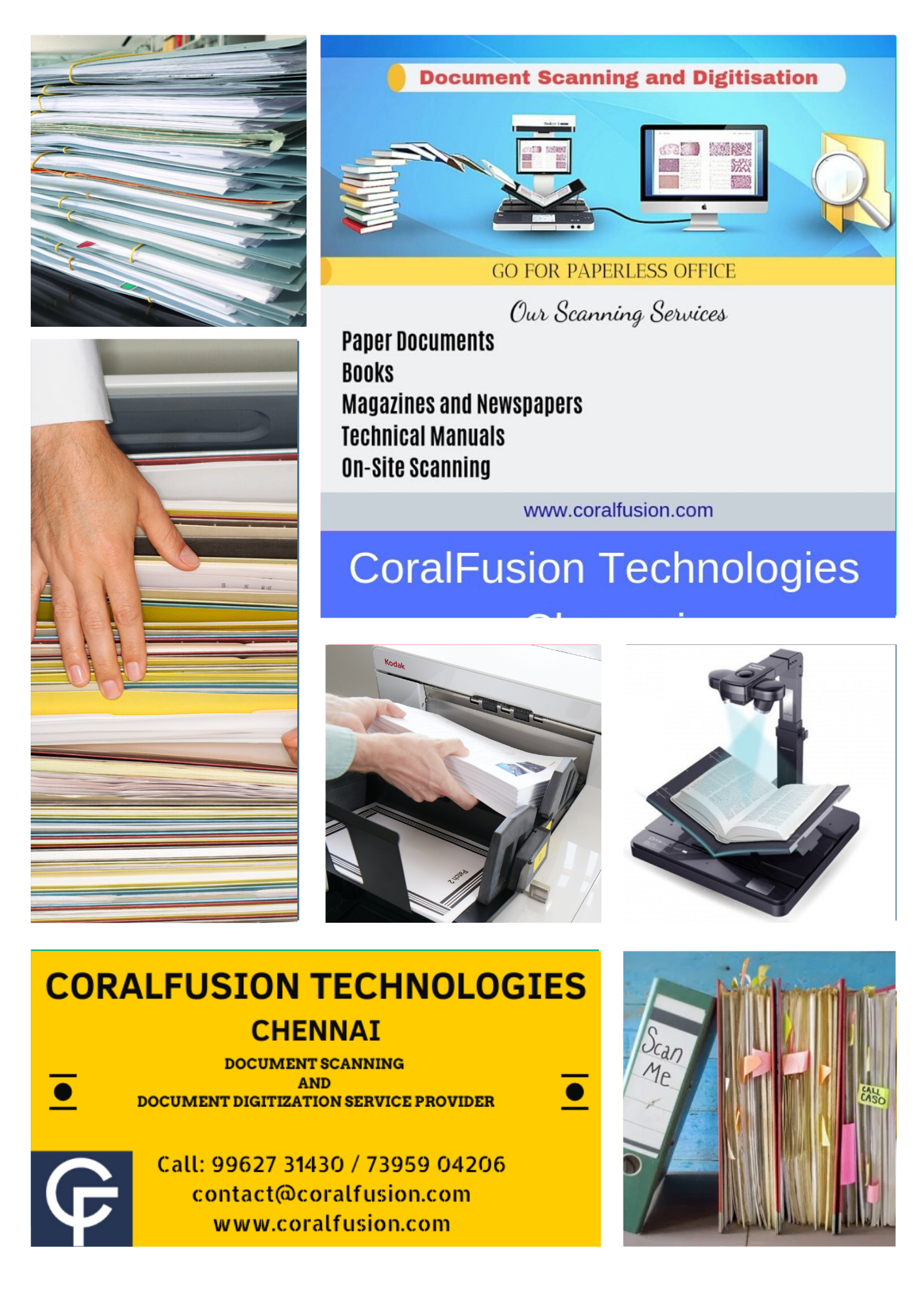 Document scanning works chennai-Services-Other Services-Chennai