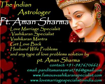Love Marriage Specialist | Astrologer Aman Sharma-Services-Esoteric-Port Blair